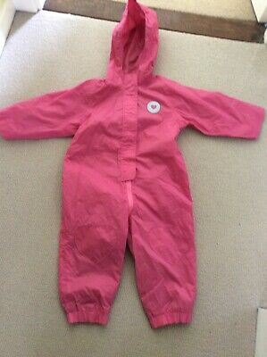 Girls Wet Coat-jacket Size Age 2-3