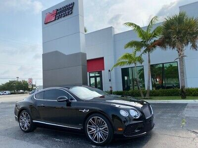 2016 Bentley Continental GT Speed 2016 CONTINENTAL GT SPEED - SOUTHERN OWNED - 17K MILES - INTERIOR STYLE SPEC