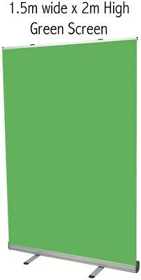 pop up green screen 1500mm x 2000mm NEW