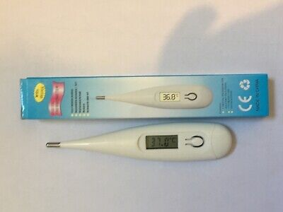 Digital Thermometer Adult Medical Baby Body Kids Safe Ear Mouth LCD Temperature