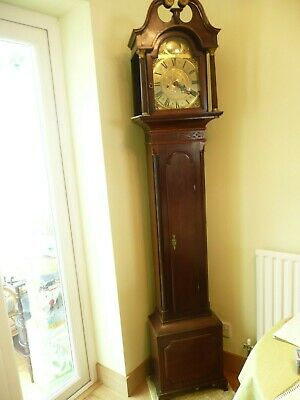 Antique Ultra Slim Longcase {Grandfather] Clock. Richard Houton. Check This Out