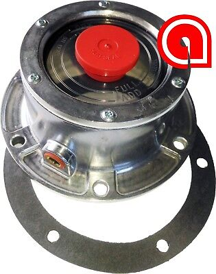 4024, 6 holeö Front hub cap with gasket+side plug Replaces 300-4024