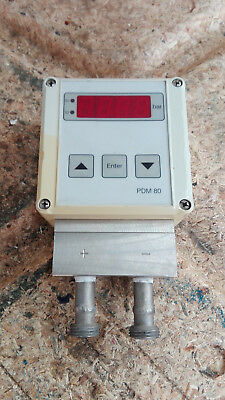 Nöding/Differenzdruckmanometer / Type: PDM80 - 2511-011 / Good Condition