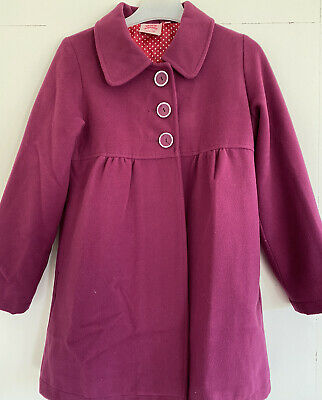 Girls Laura Ashley Coat Age 7-8