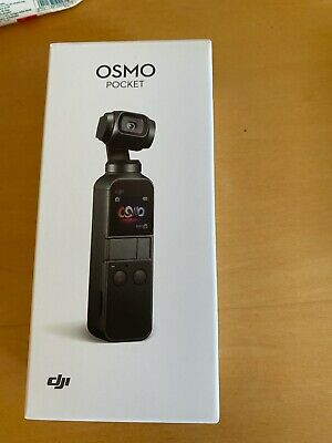 DJI OSMO POCKET - Stabilized Handheld Camera - with tripod adapter accessory