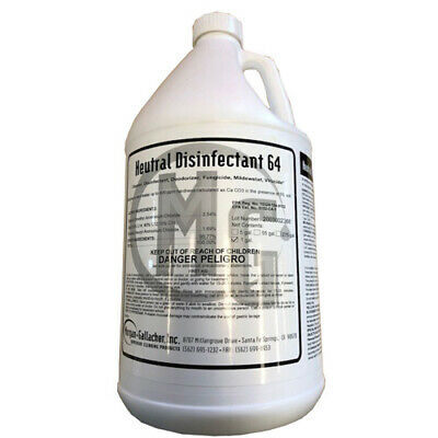 Neutral Disinfectant 64 - Disinfectant, Cleaner, and Deodorizer