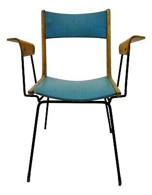 Chair Collectibles Boomerang Design carlo de carli With Armrests Years 60