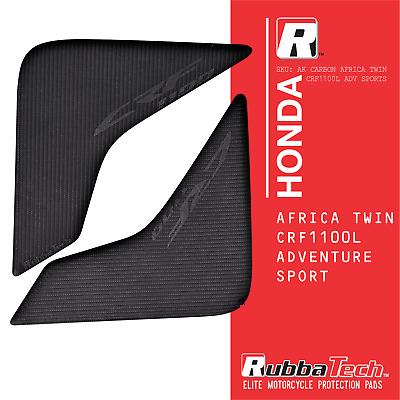 RUBBATECH AK Carbon Knee Pads for Honda Africa Twin CRF1100L Adventure Sport