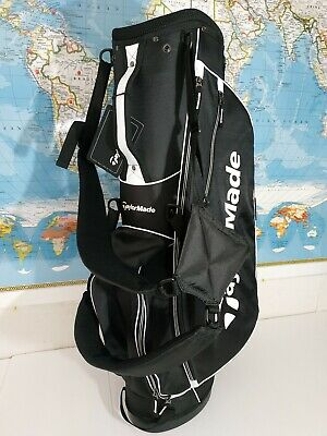 NEW TaylorMade 2017 Stand Bag 5.0 black/white