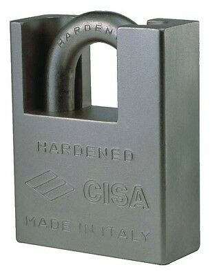 Padlock Cisa Arched Reinforced 28350.73 MM.73 Leng... Armoured Chain Garage