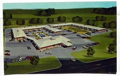 Holiday inn, Jackson, Miss Postcard A649