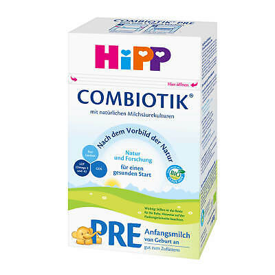 600g HiPP Combiotik Infant Formula Pre from Birth An Good For