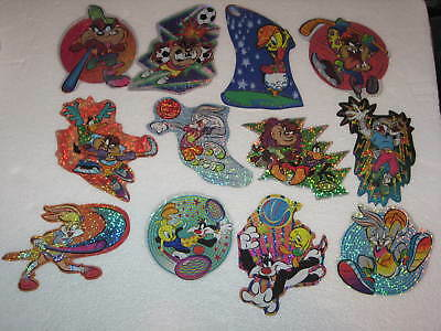 Bugs Bunny Looney Tunes Sports 12 Vending Stickers  Complete Set  What's Up Doc?