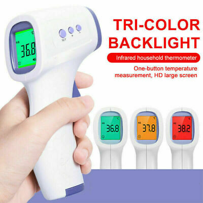No-contact Touch IR Infrared Digital LCD Thermometer Forehead Thermometer Baby&