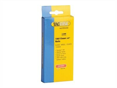 Tacwise TAC0359 180 18 Gauge 15mm Nails Pack 2000