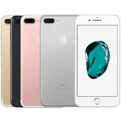 NEW iPhone 7 plus 32 /128 /256GB Unlocked Mobile Smartphone All colour UK stock