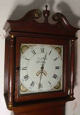 "Antique  Oak  "" Berkley ""   Listed As 1811     Longcase / Grandfather Clock"