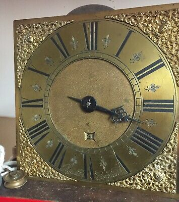 antique longcase grandfather clock movement Single Hand