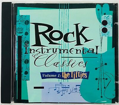 Rock Instrumental Classics CD Volume 1 The Fifties Includes Complete Lyrics