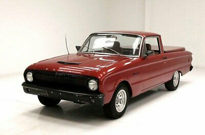 1962 Ford Ranchero  Burgundy Paint 170ci Inline 6-Cylinder/3-Speed C4 Trans Desirable Example