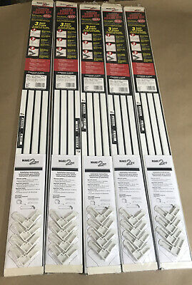 "5 Pack,  Make-2-Fit PL 7812 Window Screen Frame Kit – 5/16"" x 3/4"" x 36"""