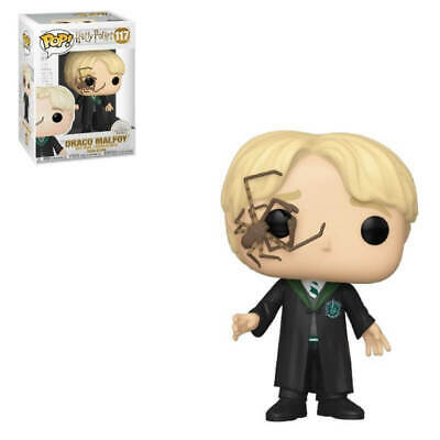 Funko Pop! Vinyl Harry Potter Malfoy With Whip Spider #117 ** Preorder **