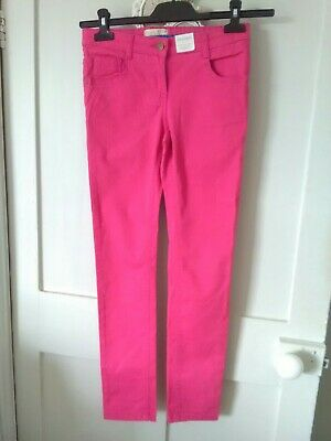 Hot Pink Jeans Indigo By Marks & Spencer Age 10/11 Years Bnwt
