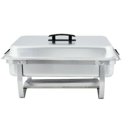 Winco Folding standChafer dish with Polished cover