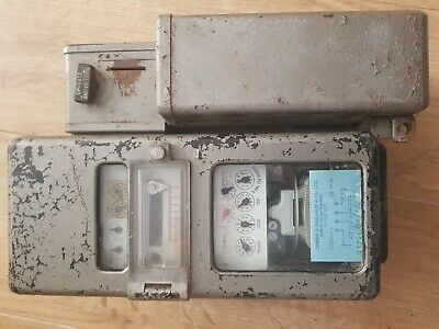 1970s Coin Operated Electric Meter