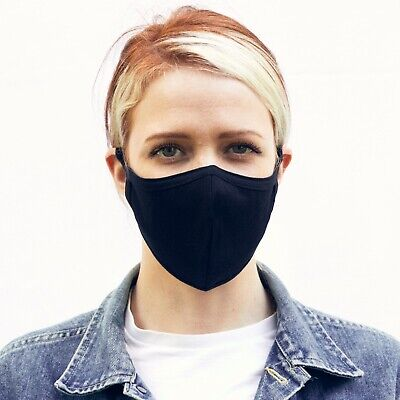 Face Mask Protective Cover Washable PPE Adult & Children: 4 Sizes=Max Protection