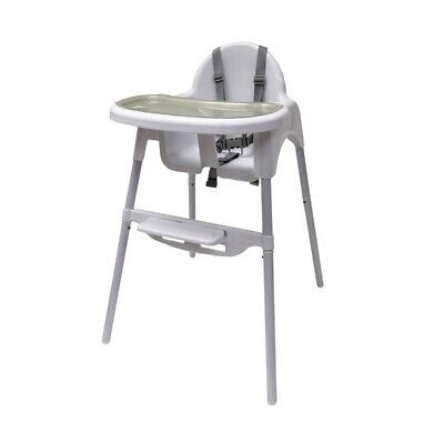 Baby Feeding High Chair No Floor Mess Adjustable Mat Splash Toddler Seat Tray UK