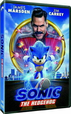 Sonic The Hedgehog (DVD,2020) >>>NEW<<<