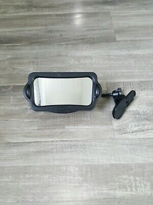 Nuby On the Go Baby View Mirror - Rear View Mirror for Autos