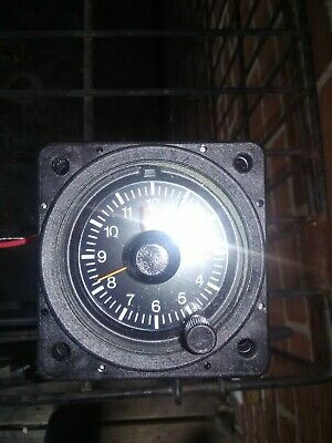 Mitchell Aircraft Clock with lights. Di-312-5038
