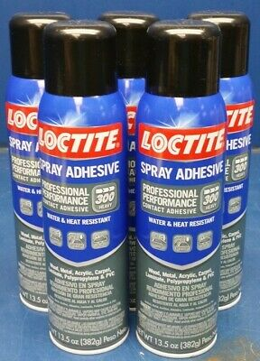 (5 Cans) Loctite 2267077 Professional Performance Adhesive Spray 13.5 oz.
