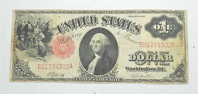 Seldom Seen! 1917 - Red Seal - Legal Tender $1.00 United States Note *458