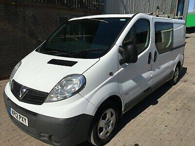 Vauxhall vivaro, 6 seater, long wheel base van,12 monts MOT, !!! Low miles!!!