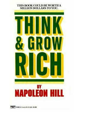 Think and Grow Rich by Napoleon Hill Fast Delivery P.D.F