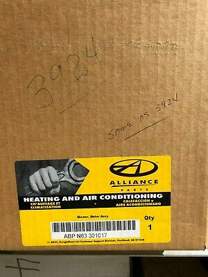 Truck Blower Motor Freightliner Number Abp N83 301017/ Air Source 3924