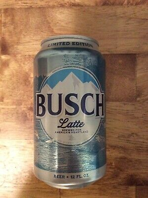 Busch Light Latte Can Limited Edition 100% Authentic