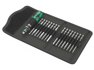 Wera WER059295 Kraftform Kompakt 60 Screwdriver Spécialiste Bit Support Set, 17