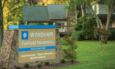 105,000 Annual Points  Club Wyndham @ Fairfield Mountains- Timeshare For Sale