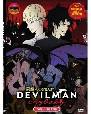Devilman Crybaby DVD (Chapter 1 - 10 End) with English Dubbed