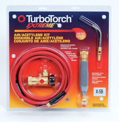 TurboTorch X-5B 0386-0338 Air Acetylene Kit