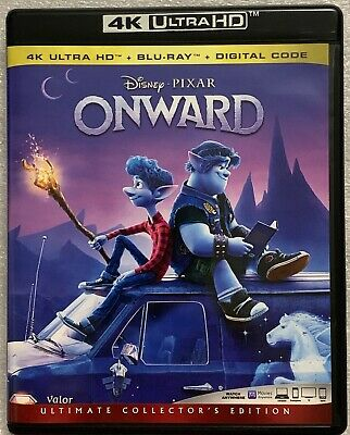 Disney Onward 4K Ultra Hd Blu Ray 3 Disc Set Free World Wide Shipping Buy It Now