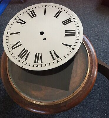 Dial Clock. For Fusee Movment. Spares. Case, Dial, Bezel And Glass