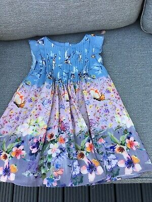 Next girls dress aged 18 -24 months, beautiful pleated detail to bodice.
