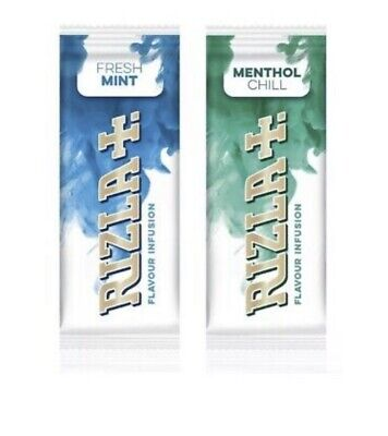 Rizla Flavour Infusions Fresh Mint Cards Menthol Chill Smoking NEW IN 2020 X 5