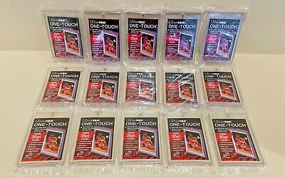 15x Ultra Pro One-Touch Magnetic Card Holders 35pt FACTORY SEALED - 35 PT POINT