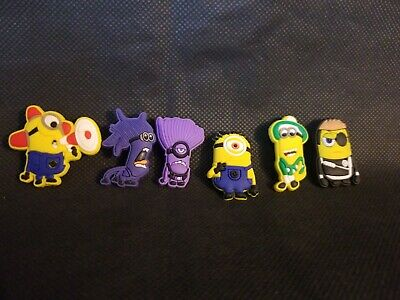 Minions Shoe Charms Crocs and Jibbitz Bracelets Costume Purple Police Siren